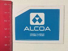 Aufkleber/Sticker: ALCOA - Originele Aluminium Systemen Uit Drunen (02061690)