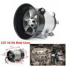 Car Auto Electric Turbine Turbo Fan Turbo Charger Tan Boost Intake Fan 12V 16.5A