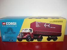 british rail bedford O articulated set camions truck CORGI CLASSICS