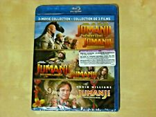 JUMANJI -  3 MOVIE COLLECTION (Blu-ray,*NEW)