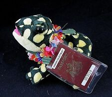 Hawaiian Collectibles Mele Pomaika'i Lucky Bullfrog Beanbag Plush w/ Passport
