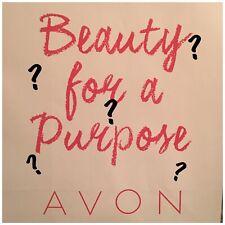 Avon Variety Makeup Bag (eyes, lips, nails)