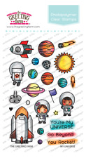 MY UNIVERSE-The Greeting Farm Clear Photopolymer Stamp-Stamping Craft-Space