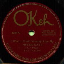 EVA TAYLOR (Sister Kate / Baby Won't You Please Come) R&B/SOUL 78  RPM  RECORD