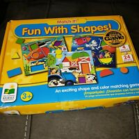 The Learning Journey Match It! Fun With Shapes! Shape And Color Matching Game