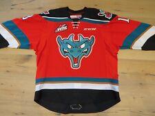 2016 - 17 Game Worn Used Jersey Philadelphia Flyers #18 Carsen Twarynski Lehigh