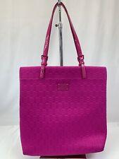 Michael Kors Fushia Pink Tote BagPurse Weekender Shopping Travel
