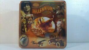 Millennium 1900s - 1940s 1000 Piece Puzzle Tin ~ Titanic WWII Airplane ~ Sealed