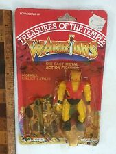 DIE-CAST TREASURES OF THE TEMPLE MOTU KO WARRIORS ACTION FIGURE AGGLO MOC #1