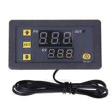 Universal Dual LCD Digital Temperature Control Controller Thermostat 12V 20A