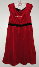 "Beautiful ""George"" Red Classy party girls dress in size Large 10-12"