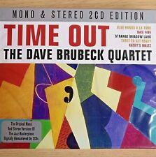 2CD NEW - THE DAVE BRUBECK QUARTET - TIME OUT - Jazz Blues Pop Music 2x CD Album