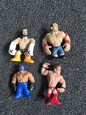 WWE RUMBLERS 4 PACK INCLUDING: CM PUNK, JOHN CENA, REY MYSTERIO AND THE MIZ FIGU