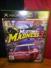Midtown Madness 3 - Microsoft Xbox PAL - Includes Manual