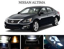 Xenon White Vanity / Sun visor  LED light Bulbs for Nissan Altima (4 Pcs)