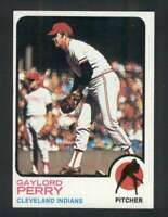 1973 Topps #400 Gaylord Perry NM/NM+ Indians 115559
