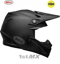 Bell Moto 9 Motocross MX Race Helmet Matte Black Intake Adults Medium 57-58cm