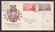 SPAIN 1947/53 THREE PHILATELIC EXHIBITION COVERS MALAGA & MANRESA CANCELS