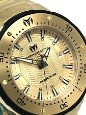 Technomarine Men's Manta Automatic Gold Plated Stainless Steel Watch TM-215095