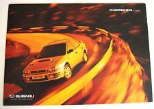 Subaru . Impreza . Subaru Impreza 2.0 Series. Sales Brochure