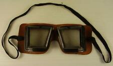 Antike seltene Motorrad Brille um 1920/30