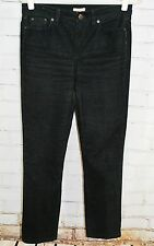 J.Crew Toothpick Ankle Corduroy Cords Pants - Women's Size 29 - Black