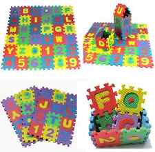 36PCS/Set Alphabet & Numerals Baby Kids Play Mat Educational Toys Soft Foam Mats