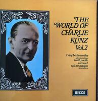The world of Charlie Kunz vol1.2 vinyl LP- VGC