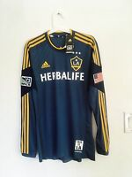 2013-14 LA GALAXY AWAY FORMOTION PLAYER ISSUE SHIRT SIZE M