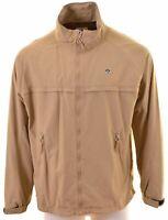 NORTH SAILS Mens Overjacket Size 44 2XL Brown Nylon  KI07