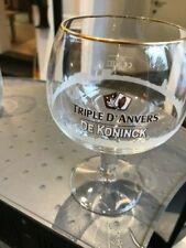 Triple d'Anvers glas verre glass new Belgium 33 cl 2011 Duvel brewery