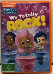 Bubble Guppies - We Totally Rock - DVD - Region 4 - AusPost with Tracking