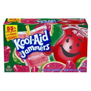 Kool Aid - Jammers - Watermelon - 10x 177ml   USA Amerika Import