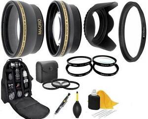 9PC of Accessory Kit For Samsung NX 20-50mm Lens NX2000 NX1000 NX500 NX300 NX30