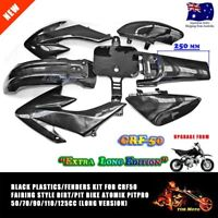 Long Version Plastics Guard Fairing Fender Kit CRF50 PIT PRO Trail Dirt Bike