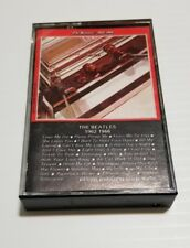 "The Beatles ""Beatles:1962-1966"" Cassette Tape Capitol Records 4X2K-3403"