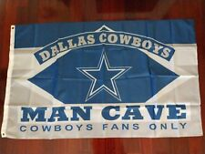 Dallas Cowboys Man Cave 3x5 Flag. US seller. Free shipping within the US