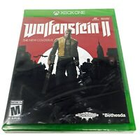 Wolfenstein II The New Colossus: Xbox One New Sealed Unopened