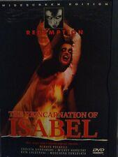 The Reincarnation Of Isabel (Dvd 1998) (U2) Redemption movie. Dvd Rita Caldeeron