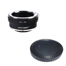 K&F adapter with lens cap  for Pentax K mount lens to Sony E NEX  a5000 A7II A7R