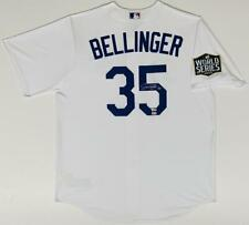 CODY BELLINGER Autographed Dodgers World Series White Nike Jersey FANATICS