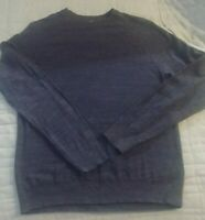 Old Navy Blue Pullover Sweater Crewneck,Mens size Medium - Free Shipping!