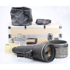 Nikon AF-S 4,0/600 IF ED. D + molto bene (234016)
