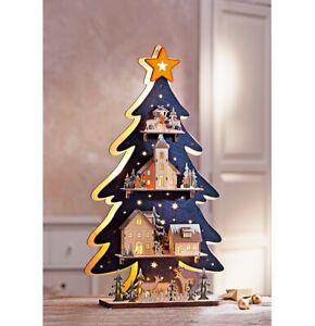 """LED-Tanne """"Winterwelt"""" Deko Licht Dekoration LED Weihnachtsdeko Adventsdeko"""