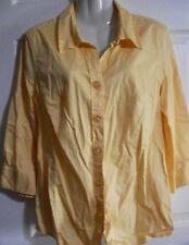 Studio 1940 Women's Button Front Blouse Size L
