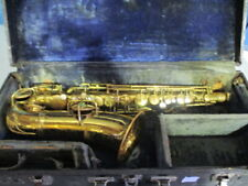 CG Conn Alto Saxophone Rolled Tone Holes