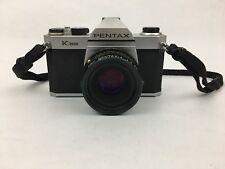 Pentax K1000 Focus SLR Film Camera With SMC Pentax-A 1:2  50MM Lens
