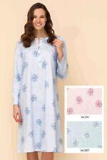Camicia da notte donna caldo cotone Linclalor 92739