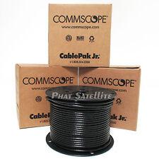 CommScope 1500' RG6 Coax Cable DirecTV Satellite 3x 500ft Pull Box Black Wire