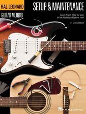 Hal Leonard Guitar Method Setup & Maintenance - Learn to Properly Adju 000697421